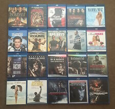 BLU-RAY MOVIES LOT! (#1) YOU PICK HOW MANY FROM 80 Titles!!