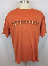 Rust Tropical Palm Trees And Surf Board Mens T-Shirt Paradise Shores