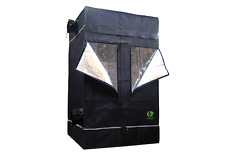 """GrowLab 120L (7'11"""" x 3'11"""" x 6'7"""") grow tent for a garden of plants."""