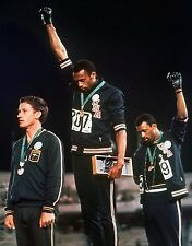 Tommie Smith and John Carlos 1968 Olympics Protest Photo - select size