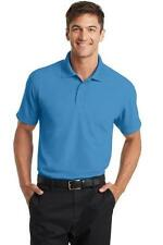 Port Authority Mens Dry Zone Polo Shirt Casual Wicking Gold Shirt K572