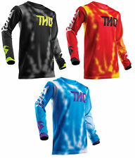 Thor Mens Youth Pulse Air Radiate Dirt Bike Jersey MX ATV Offroad Off-Road 2018
