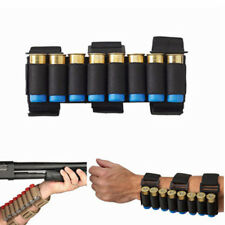 Shotgun Shell Holder 8 Rounds Gun Ammo Shooters Forearm Sleeve Magazine Pouch