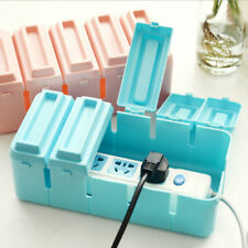 Cable/Wire/Cord Plug Socket Storage Safety Case Box Power Organizer Holder