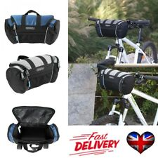 Roswheel Bicycle Bike Handlebar Front Tube Pannier Basket Frame Cycling Bag UK #