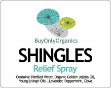 SHINGLES RELIEF Young Living® Essential Oils - Massage Oil & Spray - Organic