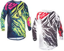 Fly Racing Mens & Youth Kinetic Mesh Relapse Dirt Bike Jersey MX ATV Offroad