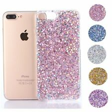 Luxury Bling Glitter Crystal Soft TPU Shockproof Case Cover For iPhone 7 6s Plus