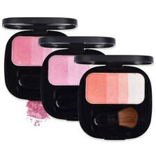 Travel Face Makeup Palette Cheek Flush Glow Blush Powder Blusher with Brush