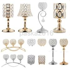 Crystal Votive Candlesticks Candle Holder Wedding Banquet Centerpieces -Assorted