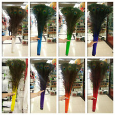 Wholesale 50/100Pcs Multi-color Natural Peacock Feathers 70-80 Cm / 28-32 Inches