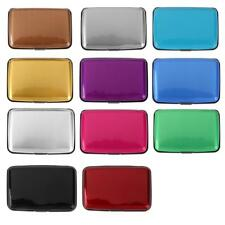 1x Mini Wallet Waterproof Aluminum Metal Case Holder for Business ID Credit Card