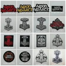 Amon Amarth Patch Sew Iron On Embroidered Rock Band Music Melodic Death Metal