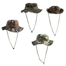 Men Women Premium Camo Bucket Boonie Hat Cap Outdoor Hunting Hiking Fishing