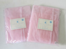 Lot of 2 NIP POTTERY BARN KIDS Tulle Tie Top Sheer Panels Pink 63 ' x 44""