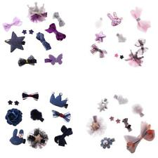 Infant Boutique Hair Bow Mixed Design Cute Toddler Hair Clips Set Baby Shower