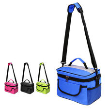 Thermal Insulated Cooler Picnic Lunch Beach Camping Cool Box Ice Grocery Bag