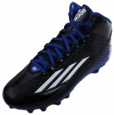 Adidas Filthyspeed Mid Fly Mens Black/Run White/Cobalt Blue Football Cleats