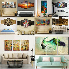 No Framed Large Modern Abstract Canvas Oil Painting Wall Hanging Decor Pictures