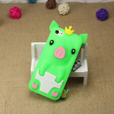 1Pcs iPhone 5/5S/SE Silicone Shell 4.0 inch Phone Case Crown Pig Cute Phone Bag