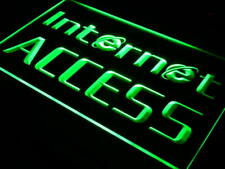 i214-g OPEN Internet Access Services Neon Light Sign