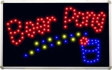 led094 Beer Pong Get Your Ball Wet Led Neon Bar Sign