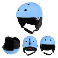 Adult Ski Helmet Snowboard Snowmobile Snow Sports Skate Safety Helmet Matte Blue