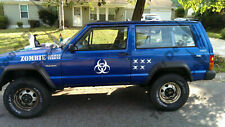Tower Decals Zombie Assault Decal Kit fits Jeep Wrangler, Rubicon, Cherokee, CJ