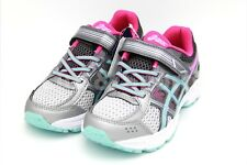 🎄 ASICS Kids Shoes PRE CONTEND 4 PS Silver Pink New Fast Ship