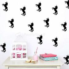 Lovely Unicorn Removable Wall Stickers Art Decal Vinyl Kids Bedroom DIY Decor