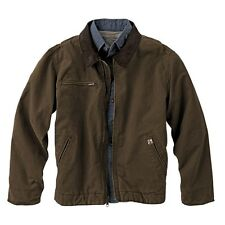 New Dri Duck Outlaw Style 5087 Quarry Washed Cloth Canvas Jacket Mens S - 4XL