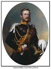 FREDERICK WILLIAM,CROWN PRINCE OF PRUSSIA PRINT.EMPEROR FREDERICK III OF GERMANY