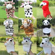 Cute Cartoon Animal Doll Kids Glove Hand Puppet Soft Plush Toys Finger Puppets