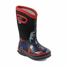 Bogs Kid's Classic Dino Kids' Insulated Boots Black Multi 72151-009