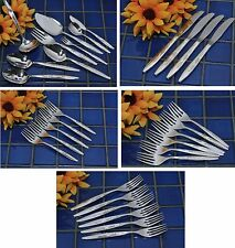 Oneida Community Silverplate ENCHANTMENT GENTLE ROSE Choice Forks Knives Spoons