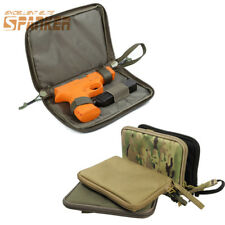 1000D Tactical Military Padded Handgun Pistol Carry Case Bag Pouch Hunting CS