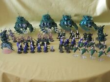WARHAMMER 40K ELDAR ARMY PART PAINTED - MANY UNITS TO CHOOSE FROM