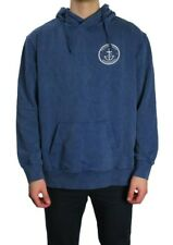 Trigger Bros Anchor Acid Hoodie Mens in Blue