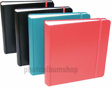 4 x Gala leatherette 6x4 slip-in 200 photo albums * FOUR PACK