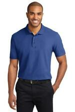 Port Authority Stain Resistant Polo Mens Knit Shirt Casual Basic Golf Shirt K510