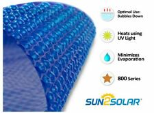 Sun2Solar® Round, Oval, Rectangle Swimming Pool Blue Solar Blanket Cover - 8 Mil