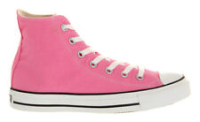 Converse All Star Hi Pink Canvas Girls Ladies