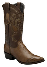 Cowboy Boots Smooth Ostrich Western Boots made by Cuadra boots