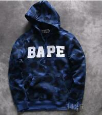 Newest Men's A Bathing Ape Popular Camo Cotton Casual Sweats Bape Hoodie