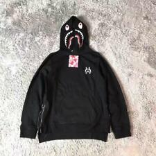 2017 Newest Unisex Bape Shark Jaw Big Pocket style A Bathing Ape Popular Hoodie