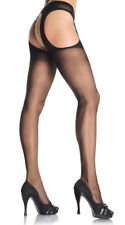 One Size Fits Most Womens Sheer Suspender Style Pantyhose, Sheer Pantyhose