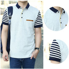 Short Sleeve shirt Jerseys Men's T-shirt 1Pcs New Cotton Men's Polo Shirt