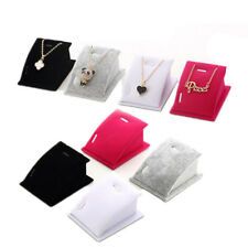Necklace Pendant Drop Chain Fashion Jewelry Velvet 1 Pcs Display Holder