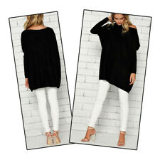 1Pcs Tops Blouse New Batwing Long Sleeve Loose Casual Womens T-Shirt