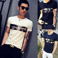 Men's Short Sleeve T-Shirt 1Pcs Round neck Fashion Popular
